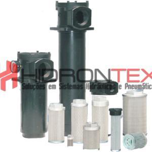 Filtro hidráulico de sucção